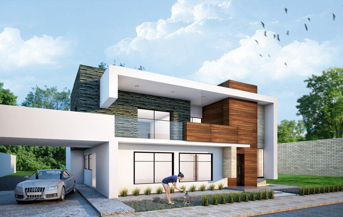 Projekt domu Dom-jednorodzinny