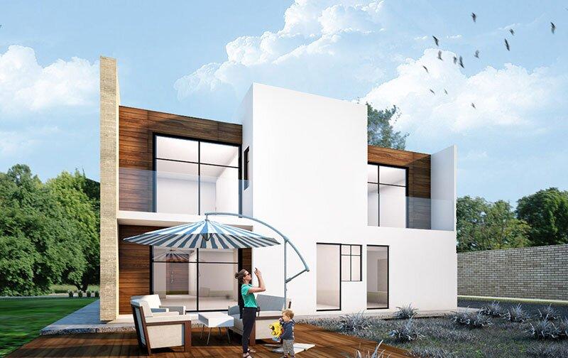 Dom-jednorodzinny projekt