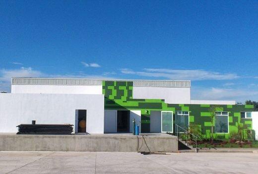 Projekt budynku gospodarczego – wytwórnia lodu