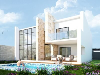 Nowoczesny projekt domu z basenem