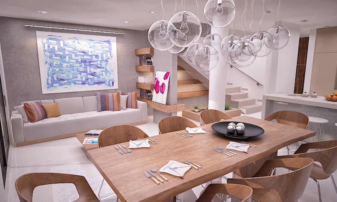 strefadzienna - projekt mieszkania