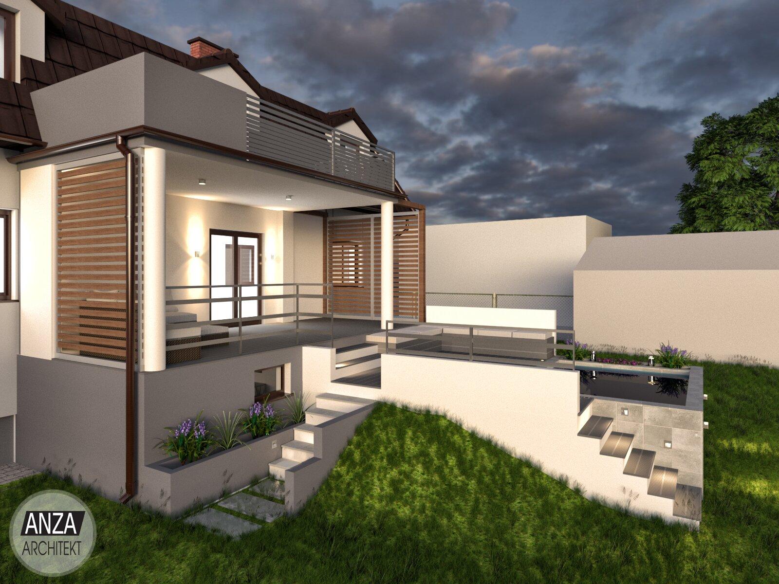 projekt architektoniczny - fabryka